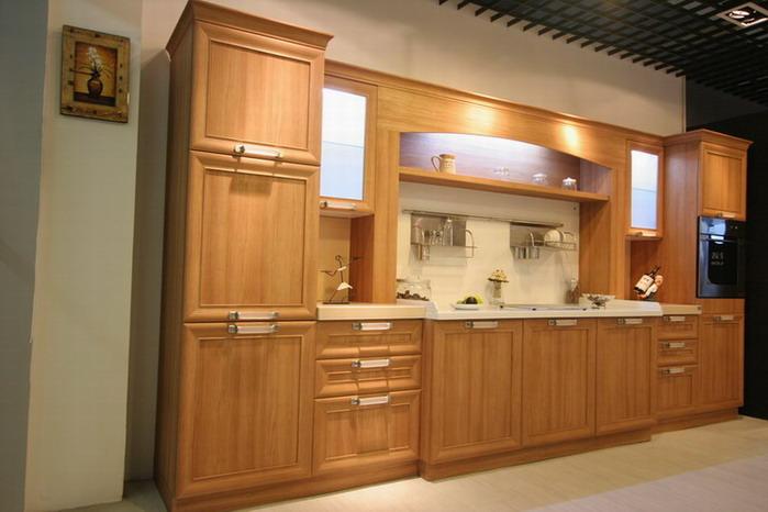 图片:实木质感的橱柜-诺尔德