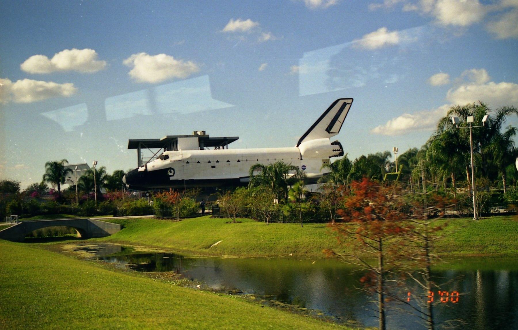 航天飞机和航天飞机里面