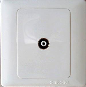 串接式有线电视插座(也叫有线电视1分2)西门自不生产
