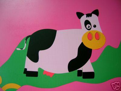 电脑壁纸可爱小牛
