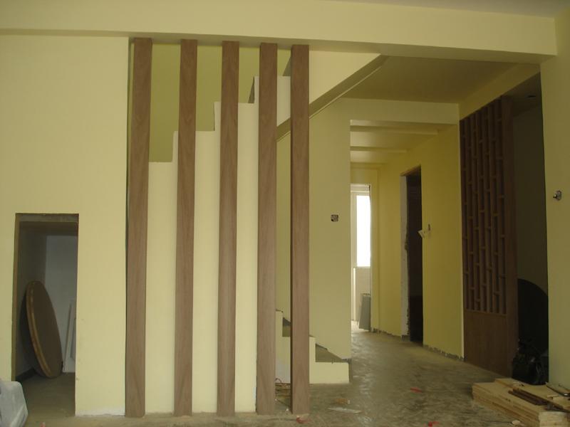 柱子造型和屏风