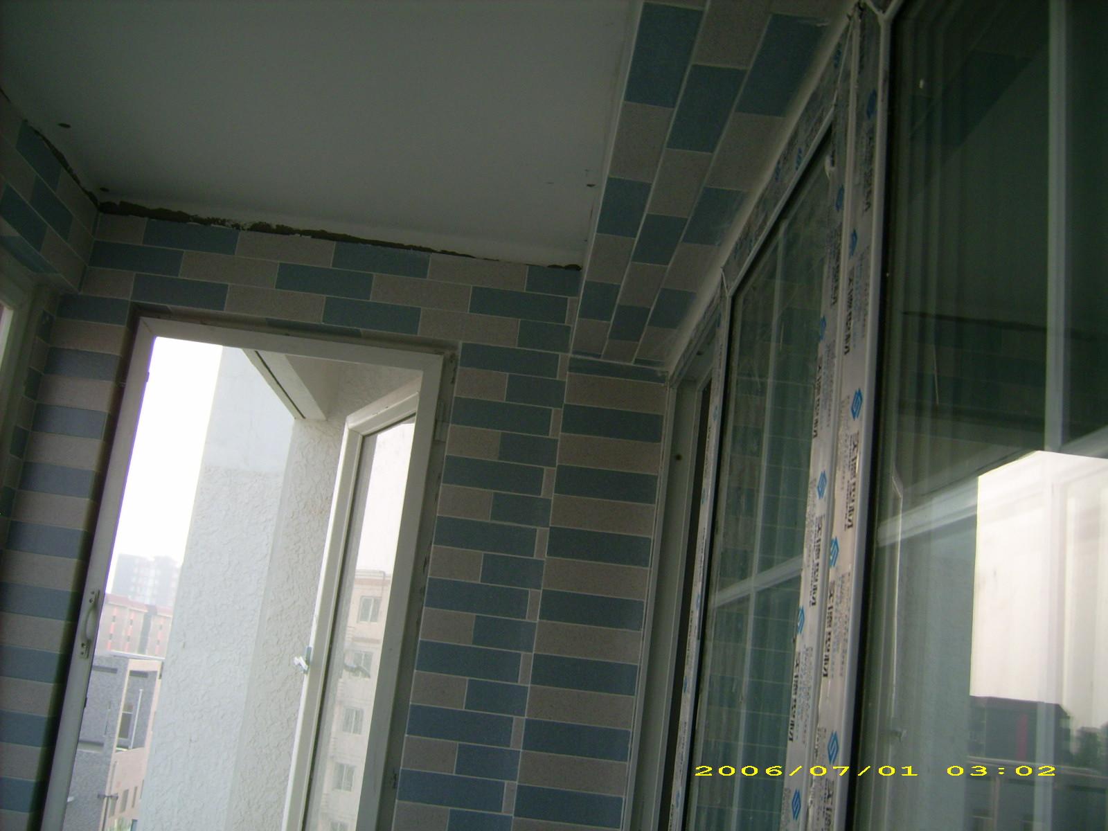 客厅阳台--------------------门垛的处理