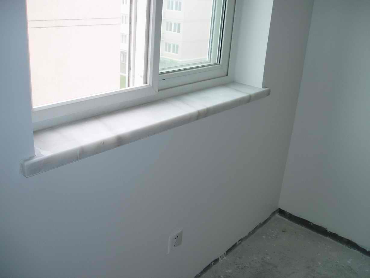 窗台石,白色的,怎样?
