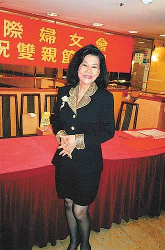 霍英东二太太冯坚妮曝光率最高.