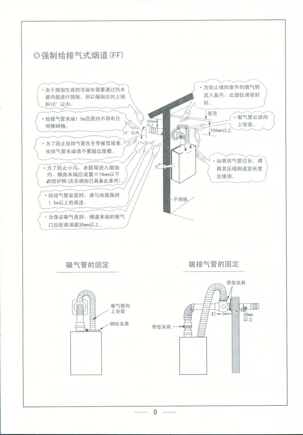 庆东冷凝式锅炉-冷凝式壁挂炉kca资料及使用说明2