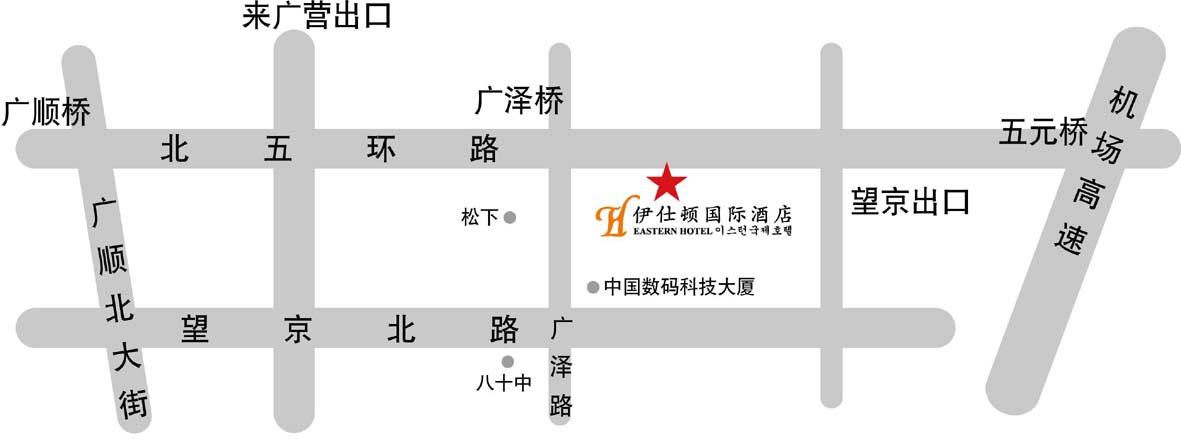 幸福东园社区地图