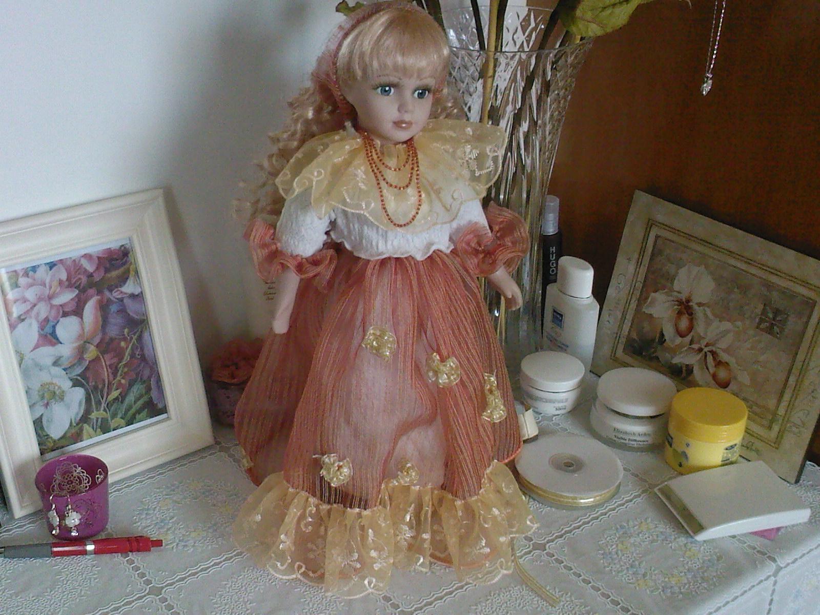 给洋娃娃做的小裙子